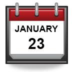 January 23