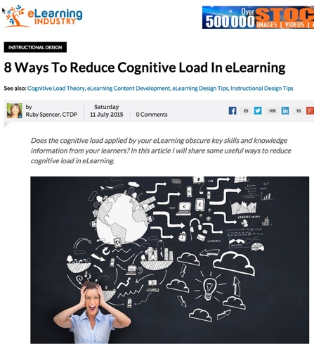 8 Ways to Reduce Cognitive Load