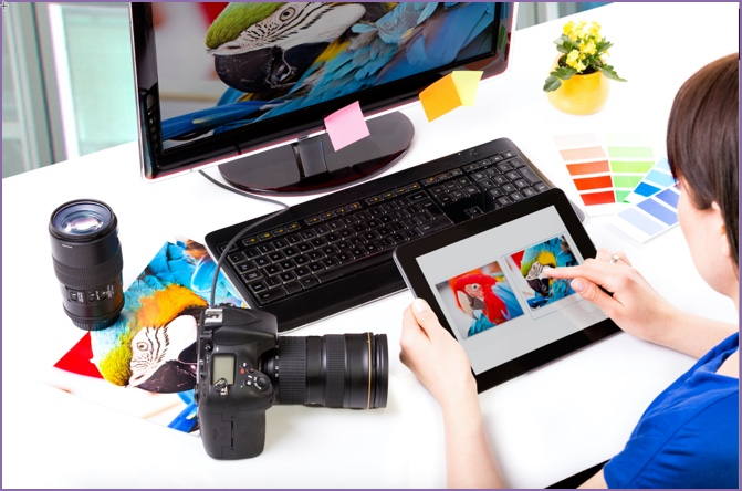 istock photo showing Editor