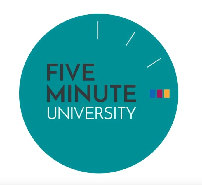 Logo for 5 minute university