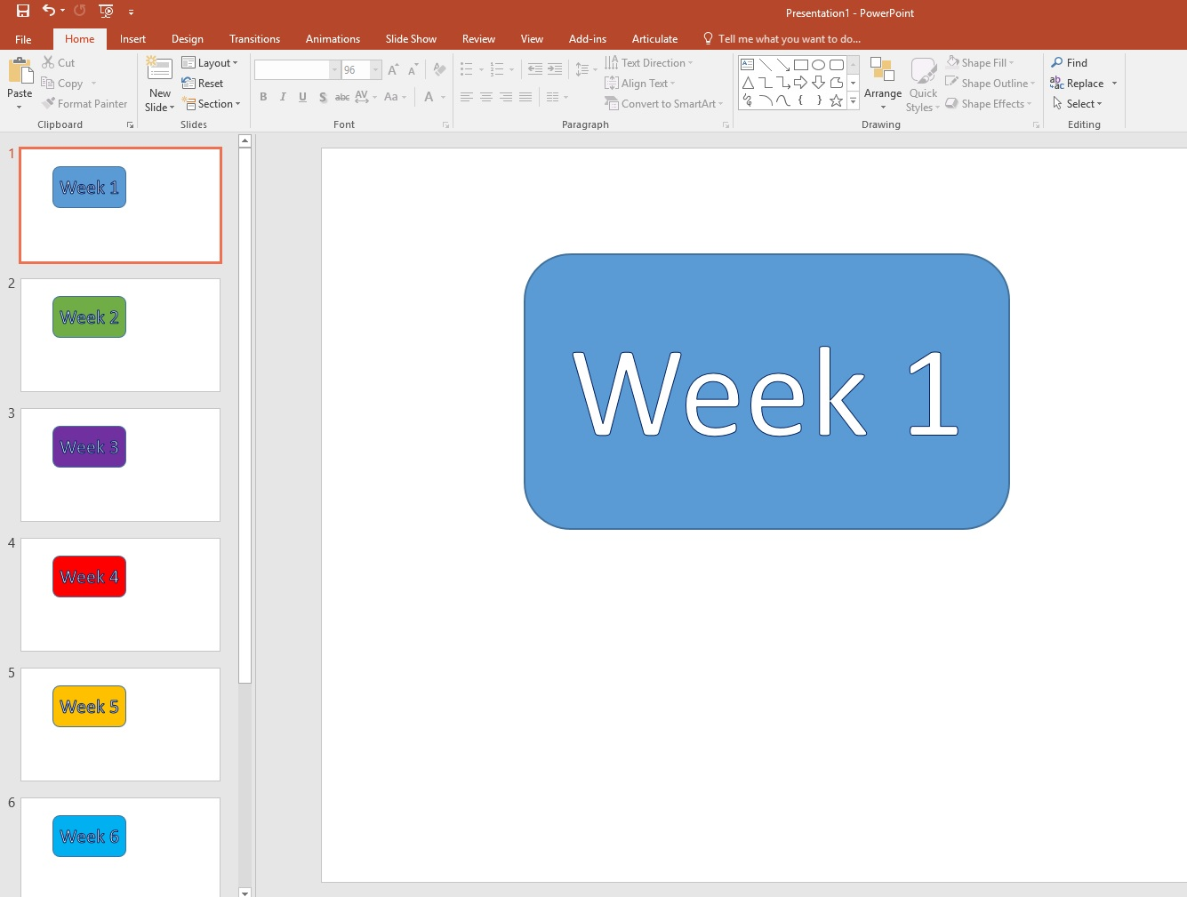 Icon in Powerpoint